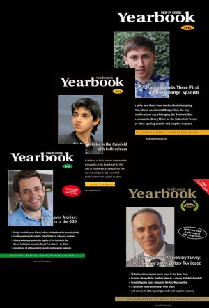 New in Chess Yearbook (4x Year, Hardcover)