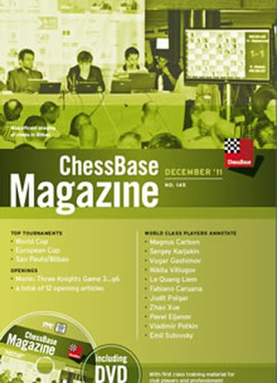 Chessbase Magazine 145 (+DVD)